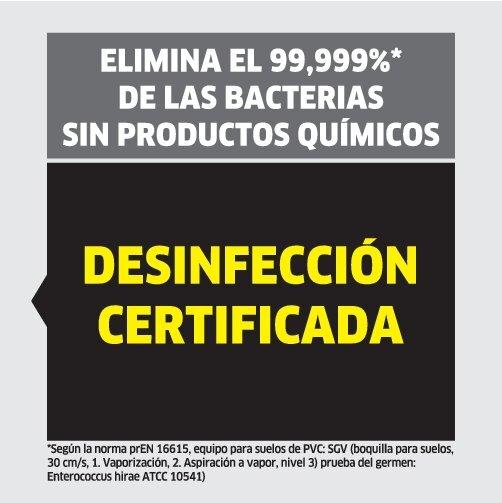 picto kills bacteria SGV ES left oth 1 CI15 112465 CMYK - LIMPIADORA A VAPOR Y ASPIRADOR KARCHER  SGV 6/5   1.092-000.0