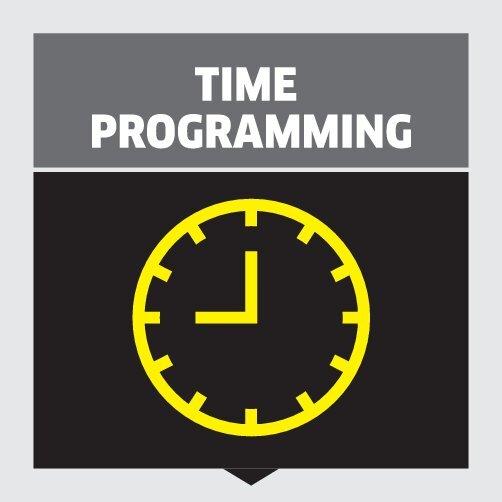 AT Fp levegőtorony: Programozható működési idő