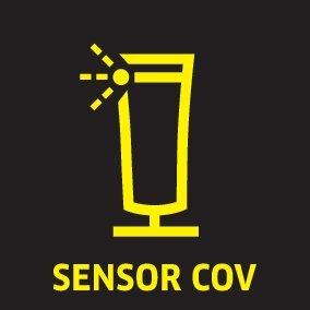 picto voc sensor oth 01 ES CI15 - AIR PURIFICADOR DE AIRE AFG 100 (BLANCO) KARCHER EN 1822:1998: 1.024-800.0