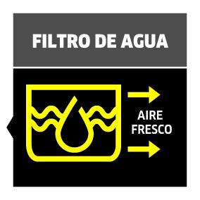 Aspirador con filtro de agua DS 6