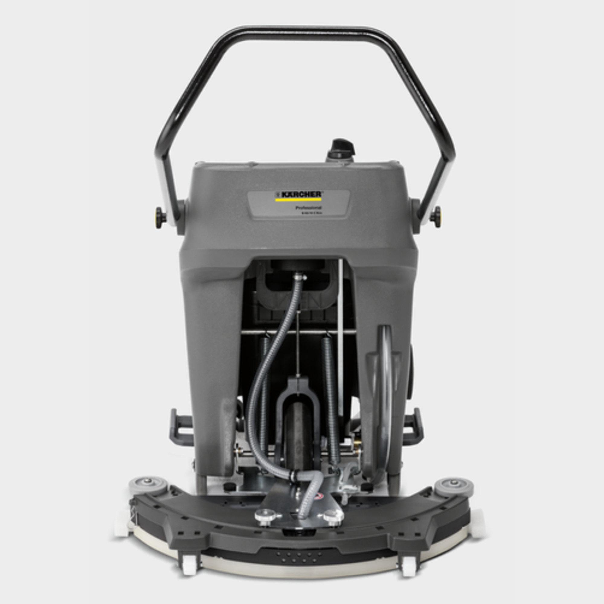 Поломойная машина B 60/10 C: Робота без застосування електрики