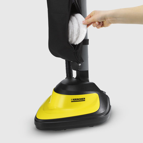 Floor polisher FP 303: High-quality textile bag, includes separate accessory compartment