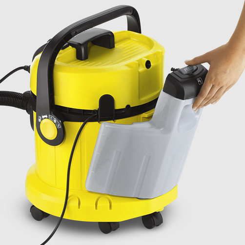 Carpet cleaner SE 4002: Removable fresh water tank