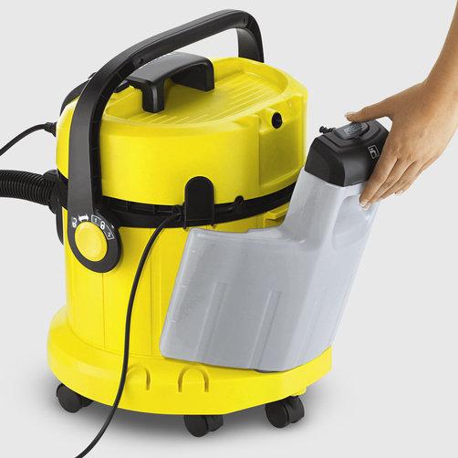 Моющий пылесос SE 4002: Съемный бак для чистой воды