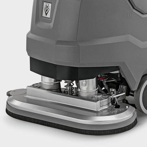 Masina de frecat aspirat BD 80/100 W Bp Pack Classic *EU: Componentele supuse unui grad mare de solicitare, cum ar fi lamela și capul de frecare sunt realizate din aluminiu de înaltă calitate