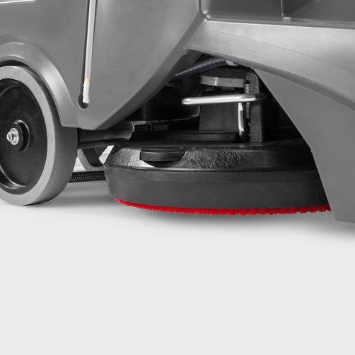 Поломоечная машина BD 50/70 R Classic Bp: Технология дисковой щетки