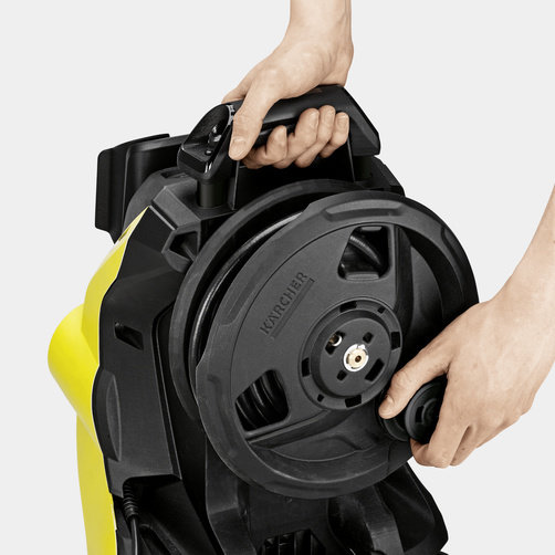 High pressure washer K 4 Premium Power Control: Hose reel for convenient handling