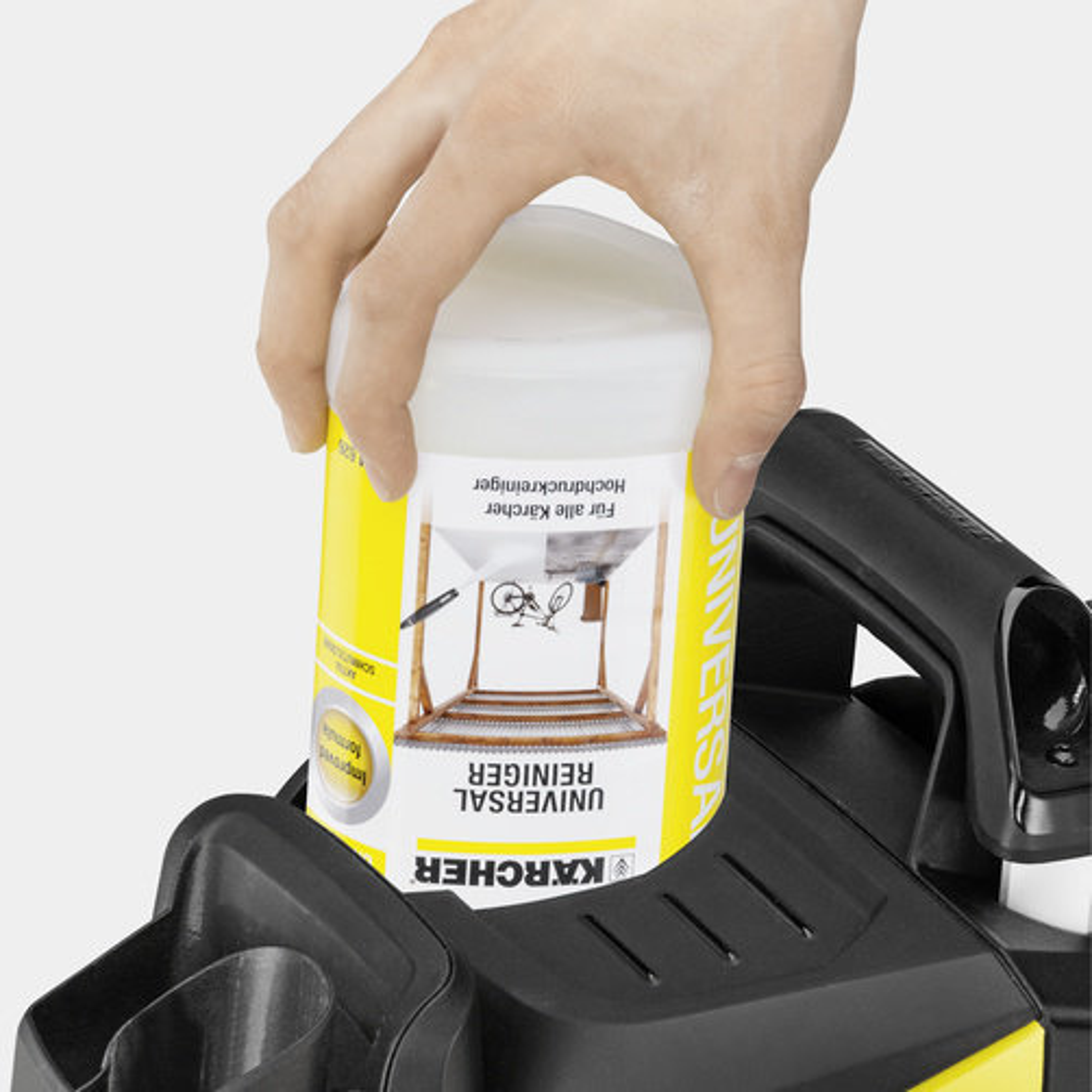 Мойка высокого давления K 5 Premium Full Control Plus: Система Plug 'n' Clean