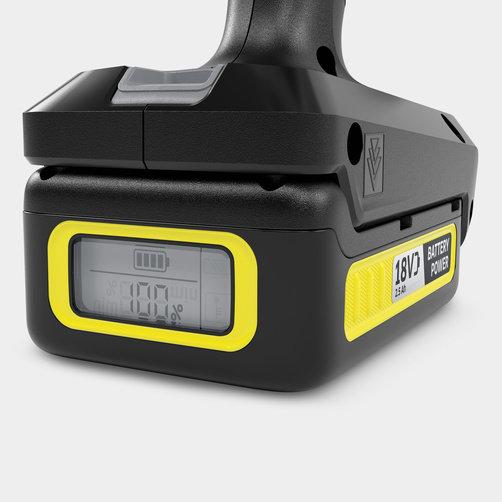 Handheld Cleaner KHB 6 Battery Set MJ *GB: 18 V KärcherBattery可更換電源