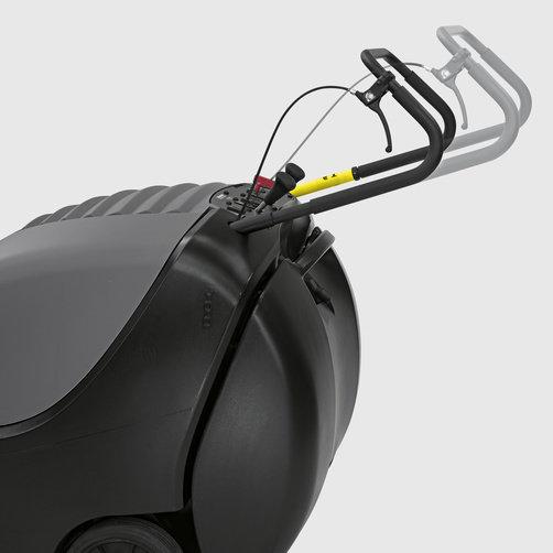 Подметально-всасывающая машина KM 85/50 W G: Тяговый привод