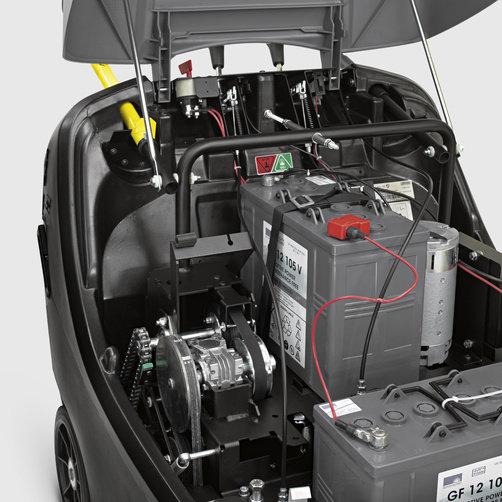 Подметально-всасывающая машина KM 85/50 W G: Рамка с двойными стенками