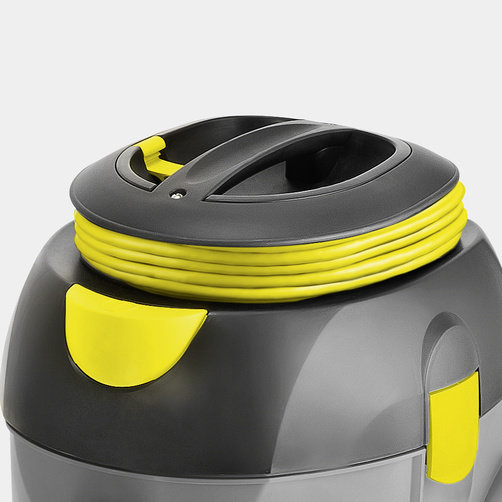 Dry vacuum cleaner T 12/1 GB: On-board cord storage