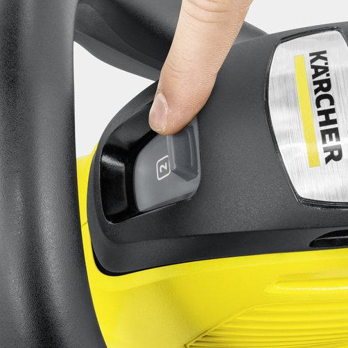 Кусторез HGE 36-60 Battery: 2-ступенчатый регулятор скорости движения лезвий