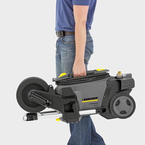 Aparat de curatat cu inalta presiune HD 5/12 CX Plus: Mobilitate