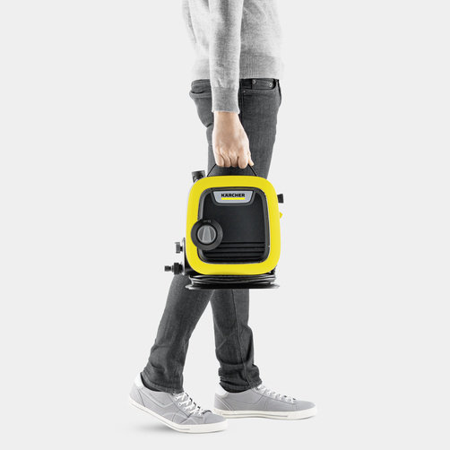 High pressure washer K Mini : Compact and lightweight device