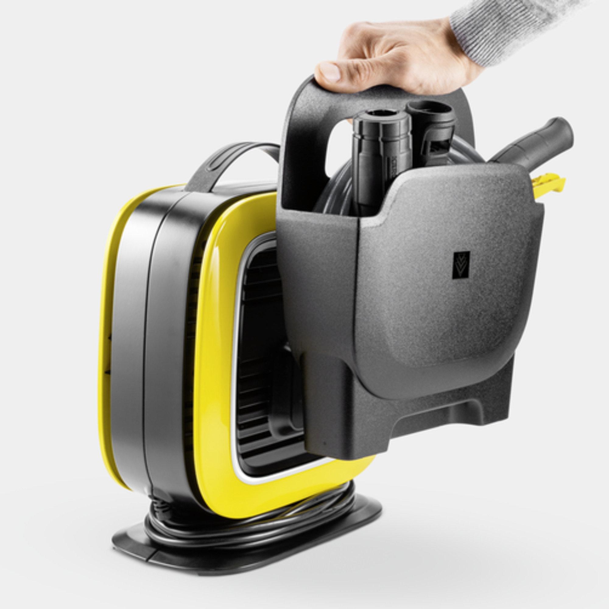 High pressure washer K Mini : Detachable accessory holder