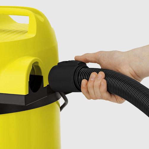 Száraz-nedves porszívó WD 3 Car: Praktikus fúvófunkció