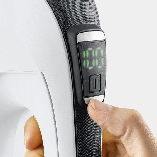 Aspirator pentru geamuri WV 6 Premium: Durată îndelungată de funcționare a bateriei