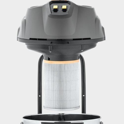 Aspirador de Pó e Líquido NT 90/2 Me Classic (220V): Aspira sem necessidade de saco coletor