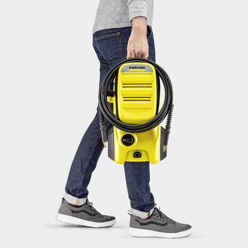 Magasnyomású mosó K 4 Compact UM: Kompakt és könnyű eszköz