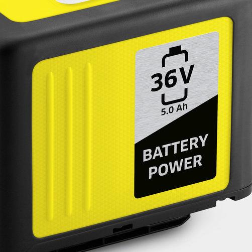 Battery power vahetatav aku 36/50: Kärcheri 36 V akuplatvorm