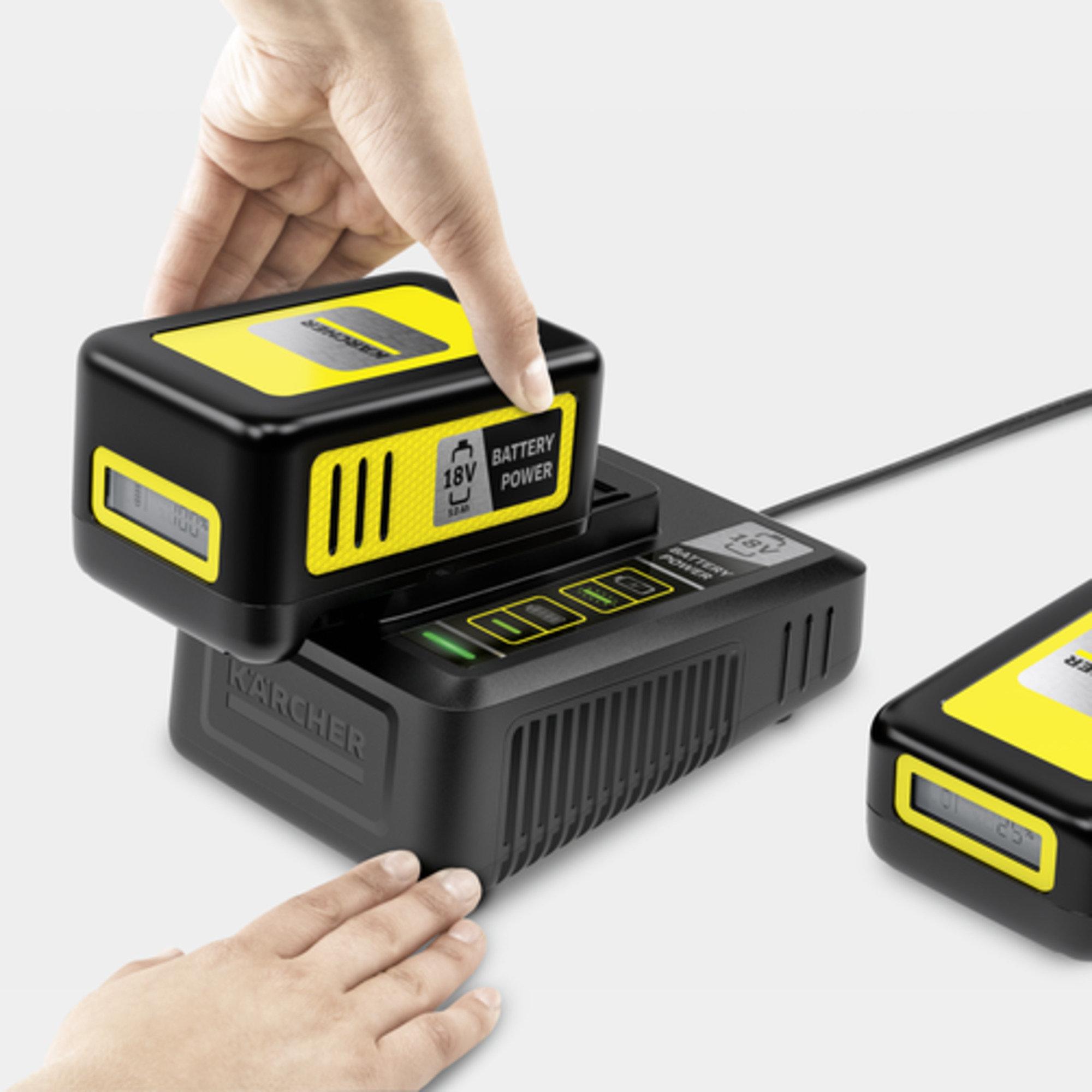 Kiirlaadija Battery Power 18V: Palju kasutusvõimalusi