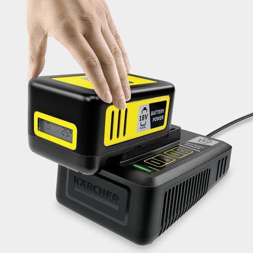 Stardikomplekt Battery Power 18/50: 18 V kiirlaadija