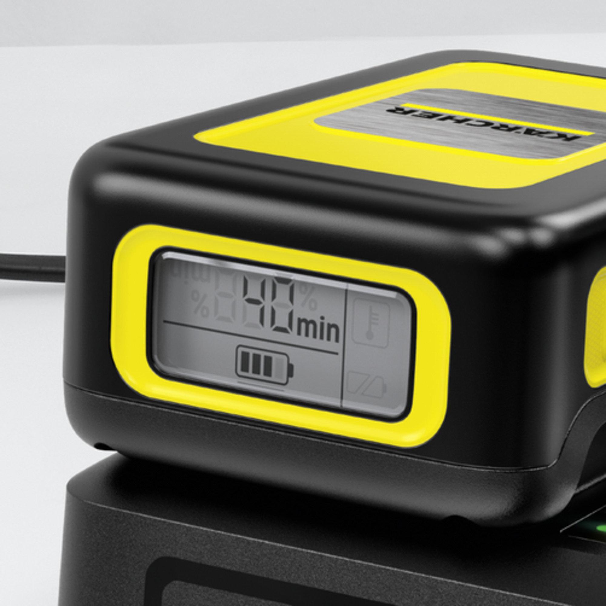 Kiirlaadija Battery Power 18V: Kiirlaadija