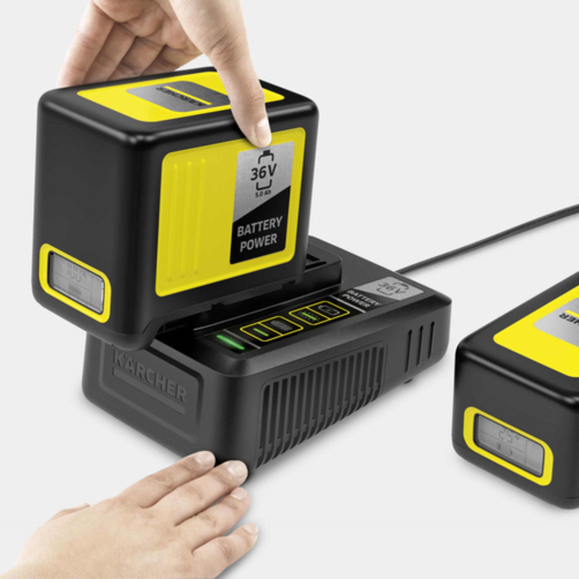 Kiirlaadija Battery Power 36 V: Palju kasutusvõimalusi