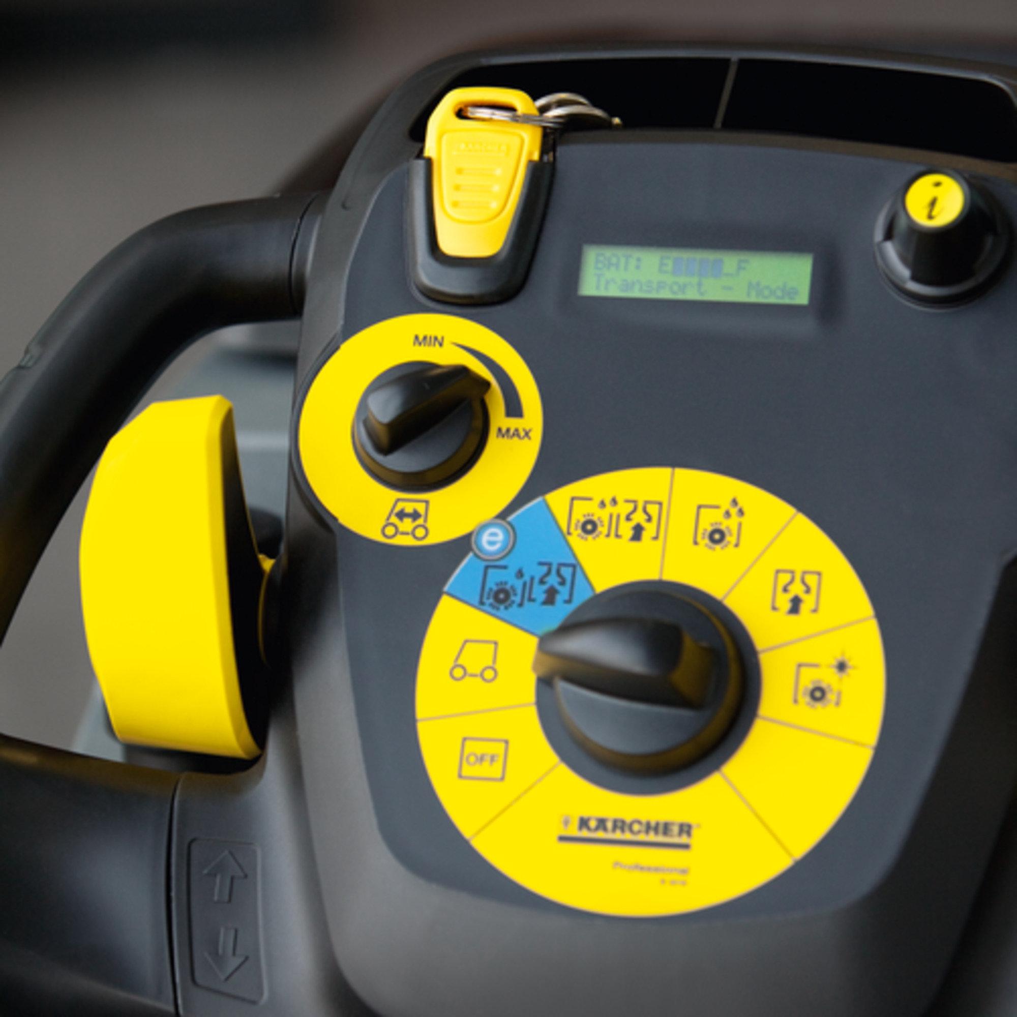 Поломоечная машина B 40 C Ep + R45 + AutoFill: Переключатель системы управления EASY
