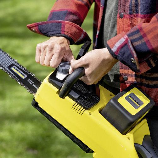 Akukettsaag CSW  36-35 (Ilma aku ja laadijata): Keti automaatne õlitamine