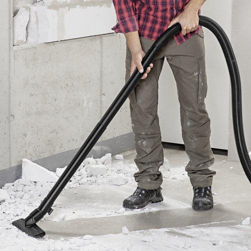 Aspirator umed-uscat WD 6 P Premium Renovation: Accesorii speciale pentru indepartare murdariei grosiere in timpul renovarii