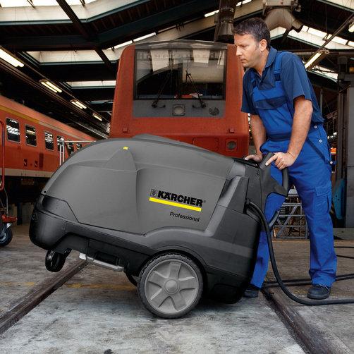 Limpiadora de alta presión HDS-E 3.3/25-4 M Ec 24 kW: Concepto de movilidad