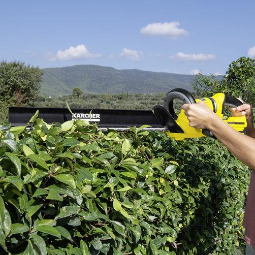 Кусторез HGE 18-50 Battery: Насадка для удаления срезанных листьев