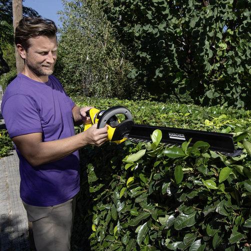 Кусторез HGE 36-60 Battery: Насадка для удаления срезанных листьев