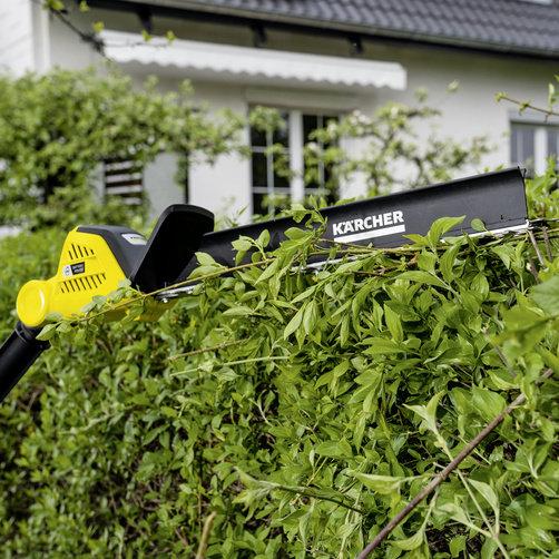 Кусторез на штанге PHG 18-45 Battery: Насадка для удаления срезанных листьев