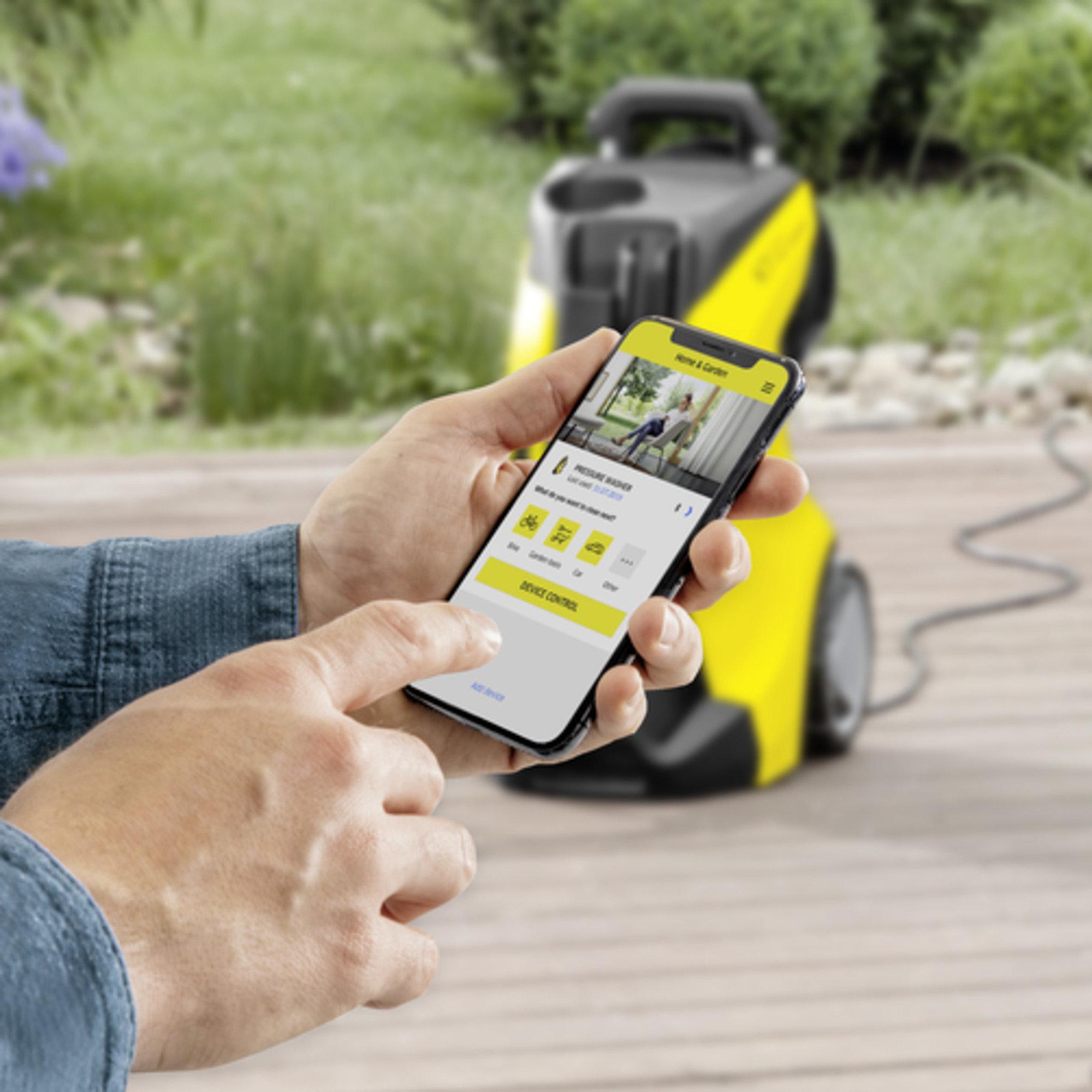 High pressure washer K 4 Premium Power Control: Home & Garden app