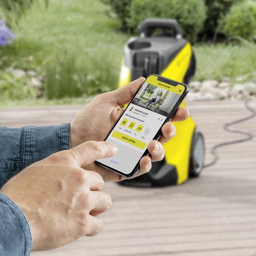Мини-мойка K 7 Premium Smart Control: Bluetooth соединение через мобильное приложение H&G