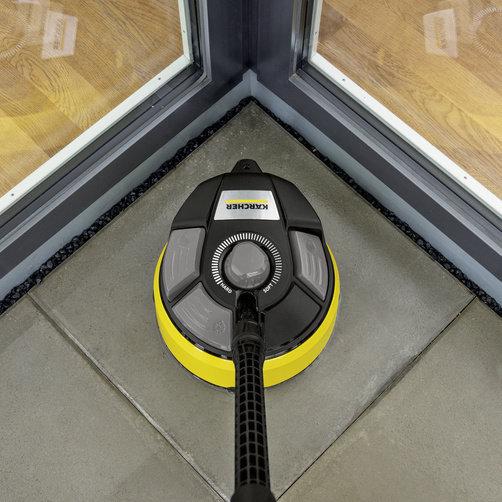 T 7 Plus felülettisztító: Beépített, kiegészítő Power-fúvóka