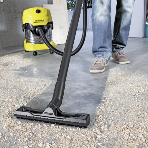 Aspirator umed-uscat WD 4 Premium: Modele noi : duză de podea și furtun de aspirare