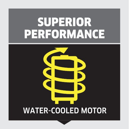 High pressure washer K 4: Outstanding performance
