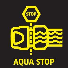 Premium-univerzális tömlőcsatlakozó Aqua Stop-pal