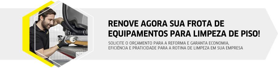RENOVE AGORA SUA FROTA DE EQUIPAMENTOS PARA LIMPEZA DE PISO!