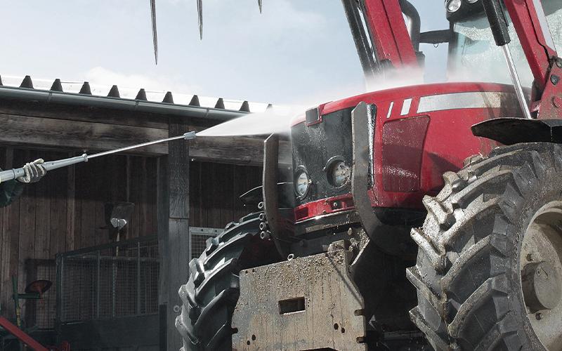 農耕機などの洗浄