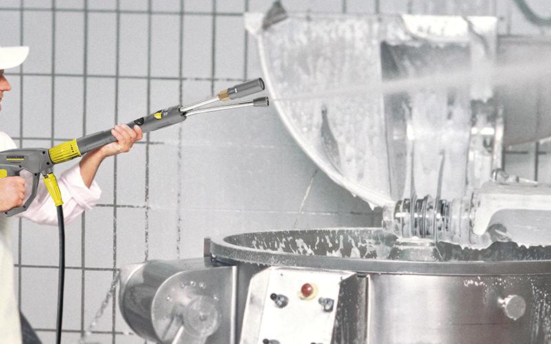オプション INNO ツインフォームランスで機械を泡洗浄