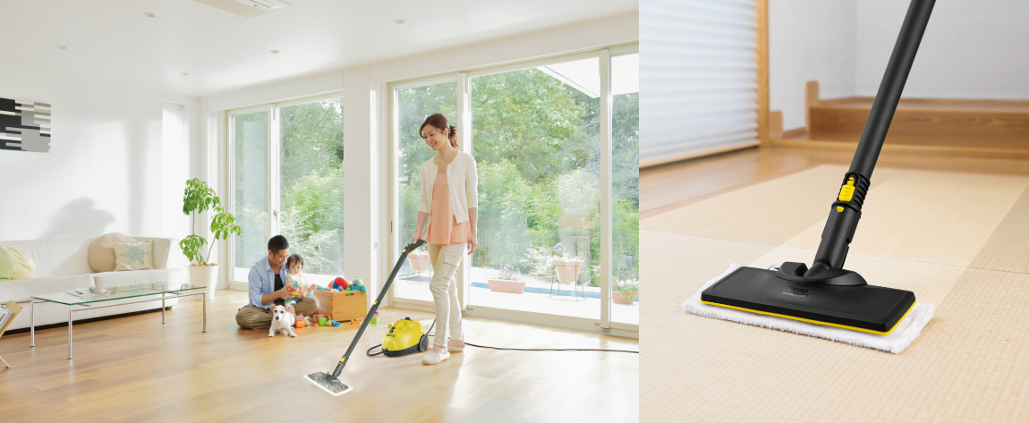 フローリング床・の掃除