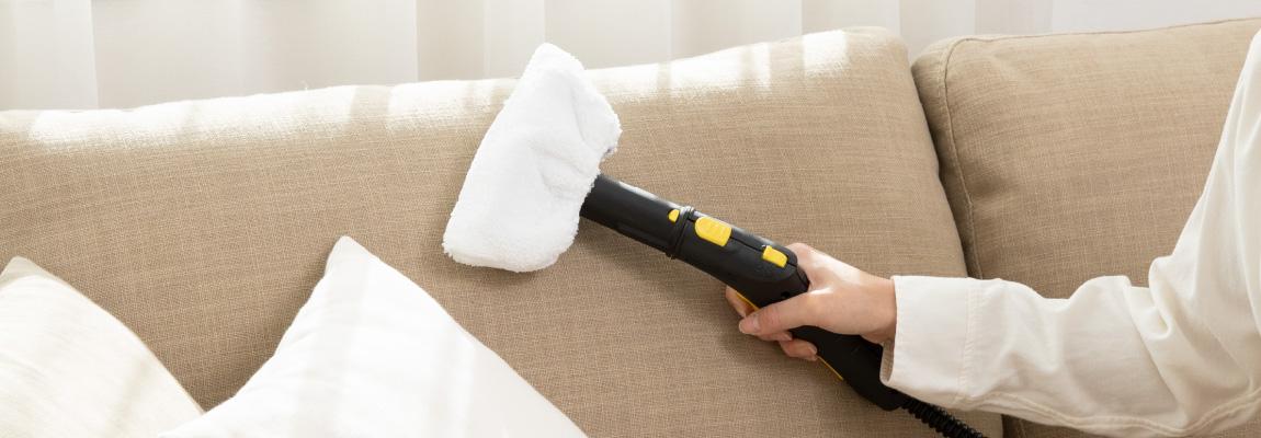 布製ソファの掃除