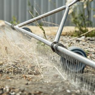 温水除草システム
