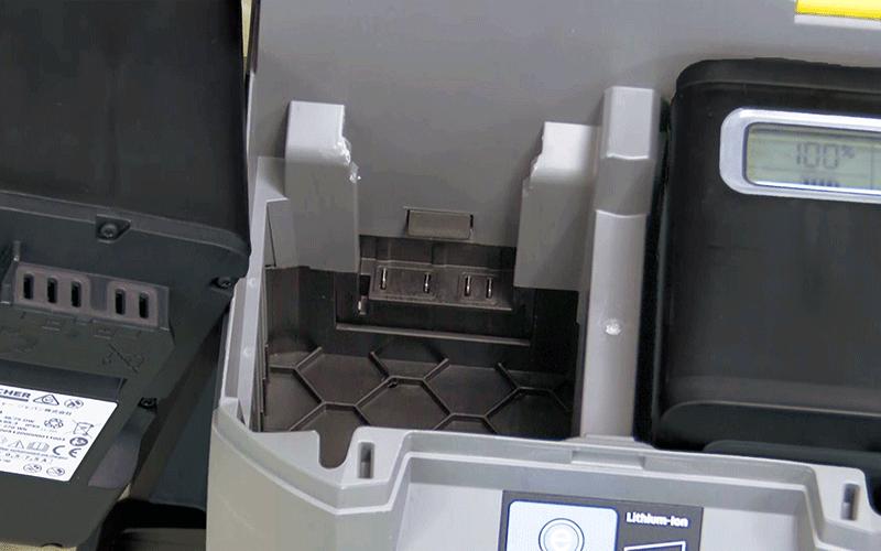 バッテリー端子を破損から保護できる断面の画像