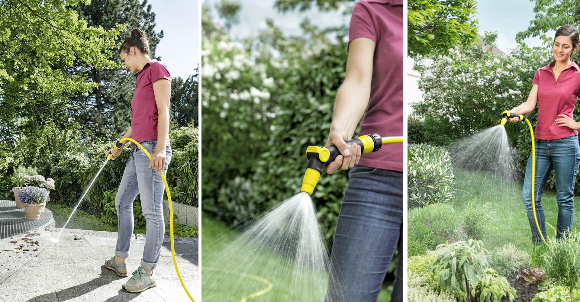 Sobre o esguicho de pressão para jardim